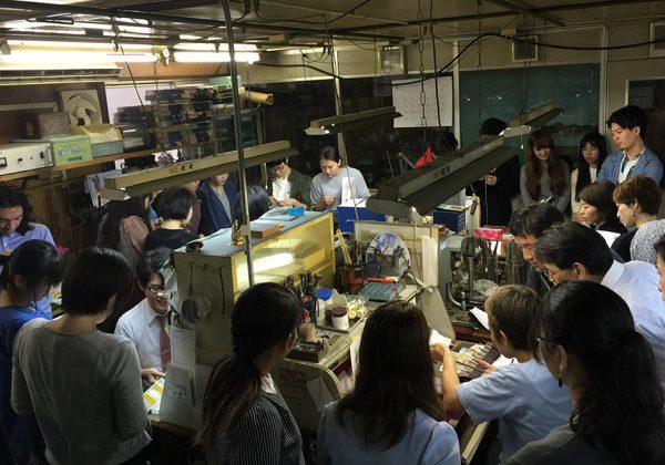 2016年9月第8回SM「英国の彫り 日本の彫り技術交流」
